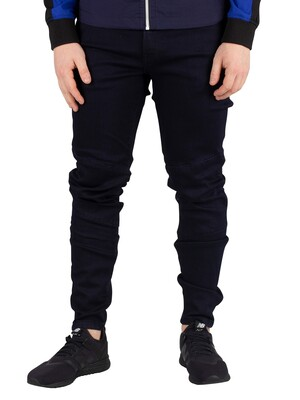G-Star Motac Slim Trainer Jeans - Rinsed