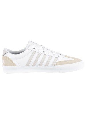 K-Swiss Addison Leather Trainers - White