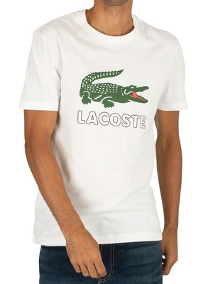 Lacoste Graphic T-Shirt - White