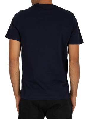 Lacoste Graphic T-Shirt - Navy