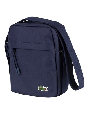 Lacoste Vertical Camera Shoulder Bag - Peacoat