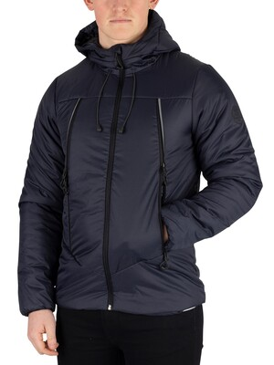 Superdry Casey Padded Jacket - Dark Navy