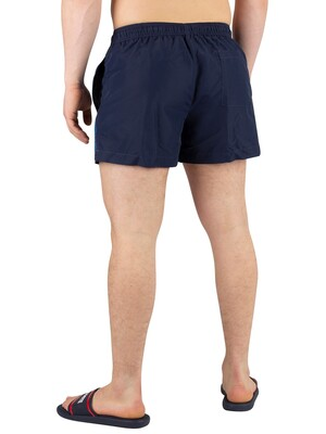 Calvin Klein Short Drawstring Swimshorts - Blue Shadow