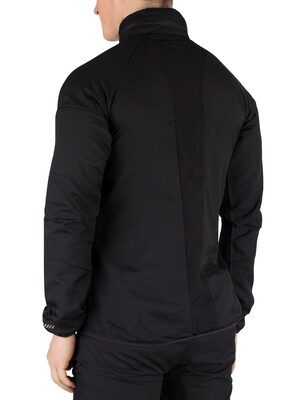Ellesse Calabrian Poly Ripstop Jacket - Black