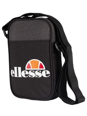 Ellesse Lukka Cross Body Bag - Black