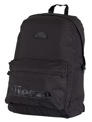 Ellesse Regent Backpack - Black Mono