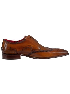 Jeffery West Leather Shoes - Castano