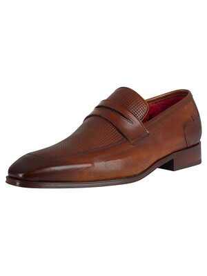 Jeffery West Leather Loafers - Castano