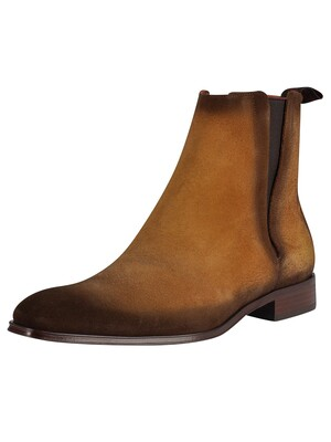 Jeffery West Velour Boots - Honey Shadow