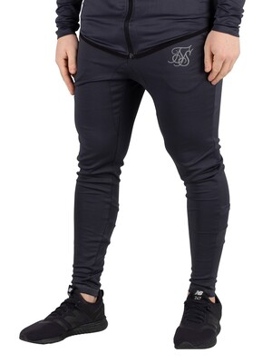 Sik Silk Reflective Sprint Track Joggers - Anthracite