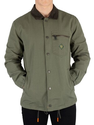 Superdry Supersonic Canvas Coach Jacket - Sage