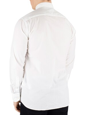 Tommy Hilfiger Essential Poplin Shirt - Bright White