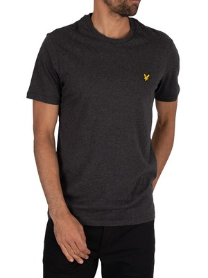 Lyle & Scott Crew Neck T-Shirt - Charcoal Marl