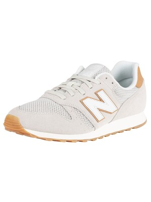 New Balance 373 Suede Trainers - Beige/Tan