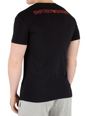 Emporio Armani Crew Neck T-Shirt - Black