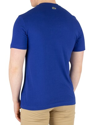 Lacoste Graphic T-Shirt - Blue Marine
