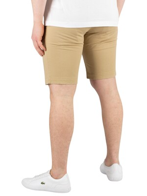 Lacoste Slim fit Chino Shorts - Beige