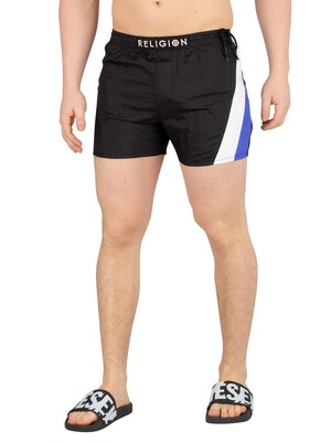 Religion Flash Swimshorts - Black