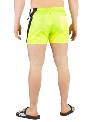 Religion Flash Swimshorts - Fluro Yellow
