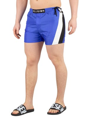 Religion Flash Swimshorts - Bright Blue