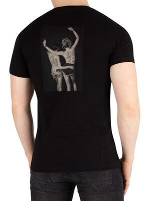 Religion Up All Night T-Shirt - Black