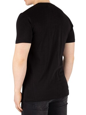 Religion Up Down T-Shirt - Black