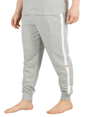 Calvin Klein Logo Joggers - Grey Heather
