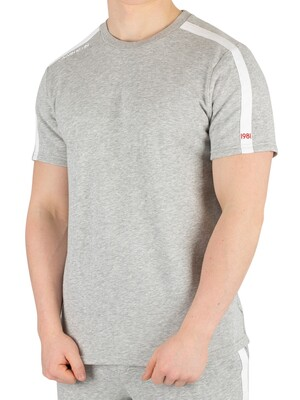 Calvin Klein Logo T-Shirt - Grey Heather