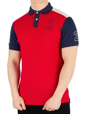 Hackett London Archive 1234 Poloshirt - Red