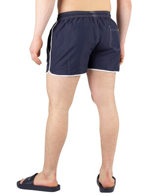 Calvin Klein Short Runner Swimshorts - Blue Shadow
