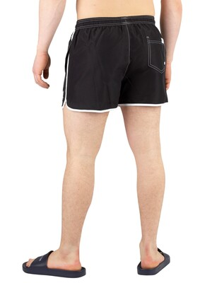 Calvin Klein Short Runner Swimshorts - Black