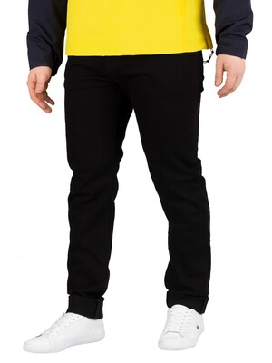 Carhartt WIP Coast Tapered Jeans - Black