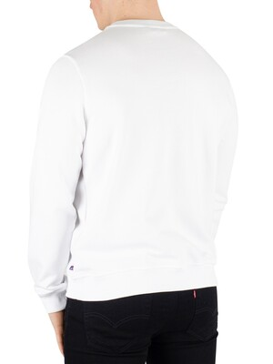 K-Way Augustine Macro Slim Sweatshirt - White