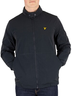 Lyle & Scott Fold Collar Jacket - Dark Navy