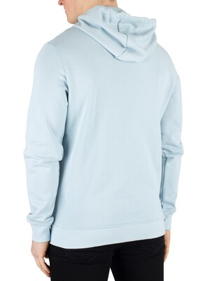 Lyle & Scott Zip Hoodie - Blue Shore
