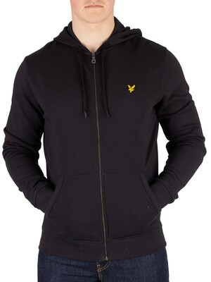 Lyle & Scott Zip Hoodie - True Black