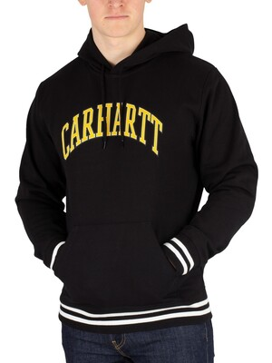 Carhartt WIP Knowledge Pullover Hoodie - Black
