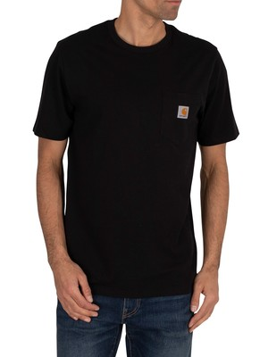 Carhartt WIP Pocket T-Shirt - Black