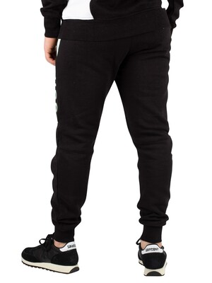Nicce London Alta Joggers - Black/Mint