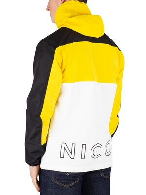 Nicce London Byron Jacket - Black/Vibrant Yellow