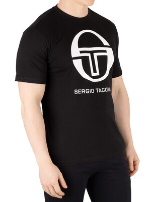 Sergio Tacchini Iberis T-Shirt - Black/White
