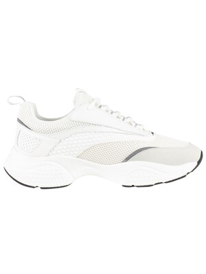 Ed Hardy Scale Chunky Runner Trainers - White