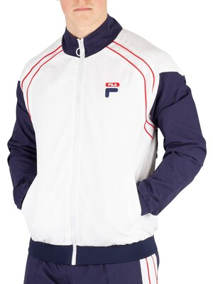 Fila Vaughn Piped Track Jacket - White