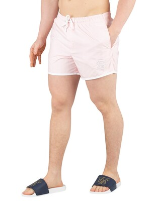 Sik Silk Standard Bound Swim Shorts - Peachy Pink