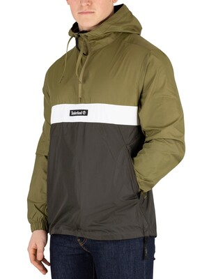 Timberland YCC Funnel Neck 1/4 Zip Jacket - Martini Green