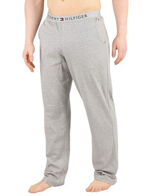 Tommy Hilfiger Logo Pyjama Bottoms - Grey Heather