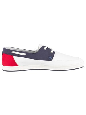 Tommy Hilfiger Seasonal Core Boat Shoes - White