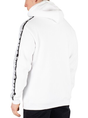 Superdry International Monochrome Pullover Hoodie - Optic