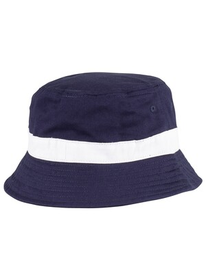 Fila Basil Bucket Hat - Peacoat/White