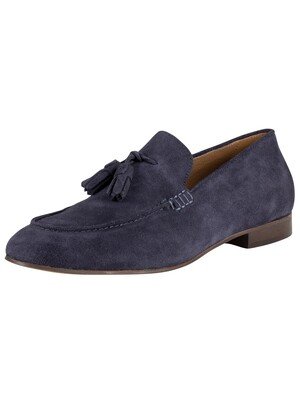 H by Hudson Bolton Suede Shoes - Navy